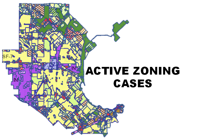 Zoning Active Cases Map